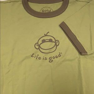 Life is Good Kids shirt
